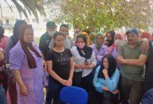 صورة في القيروان اعتداء بالعنف على العاملات