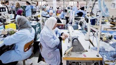 صورة توترات في بعض مصانع النسيج